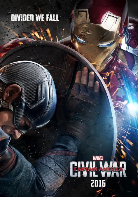 Cap and Iron Man Fight
