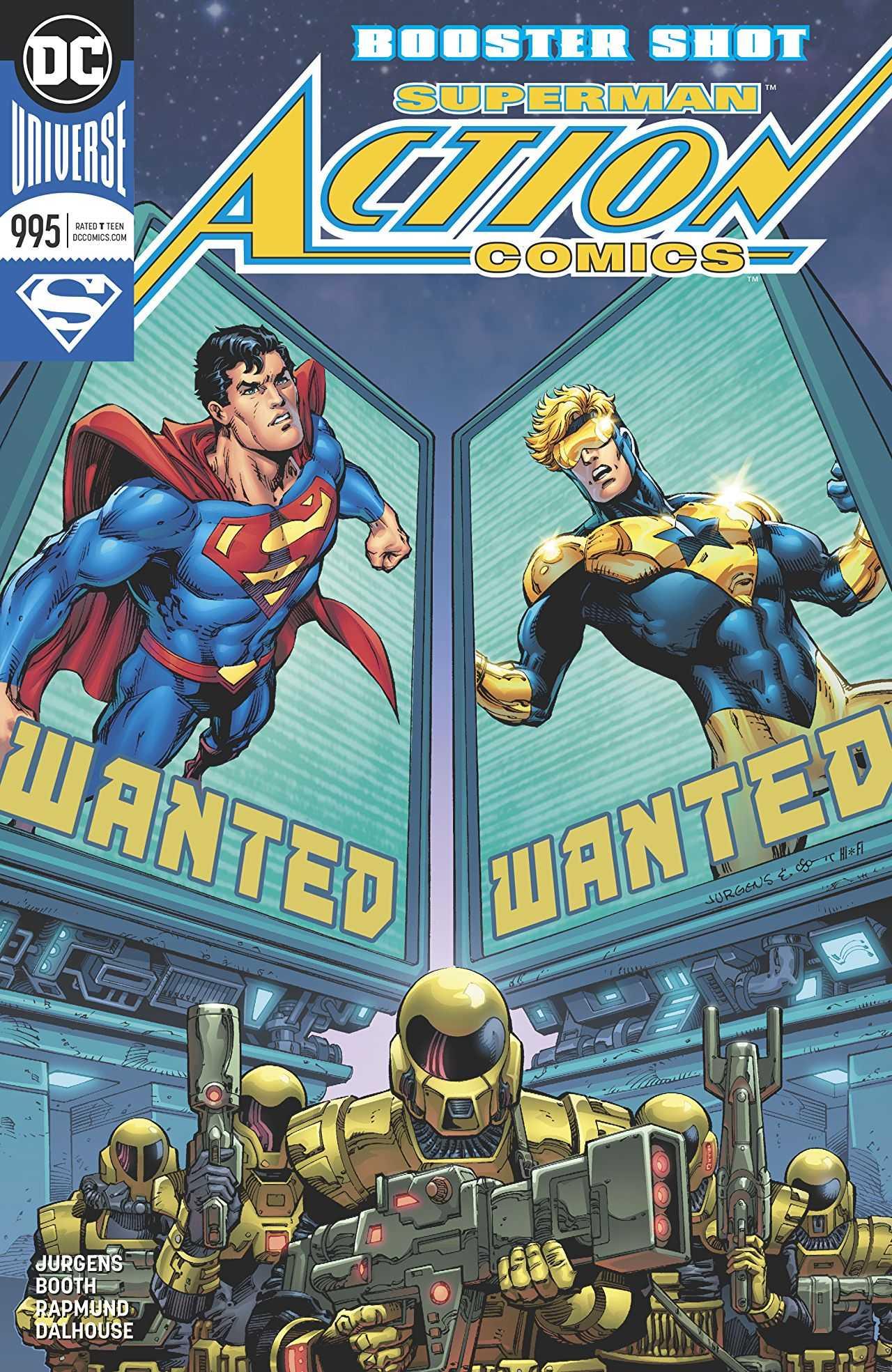 comics action comic dc booster superman vol shot books iii january week rebirth march 995a truth revenge gold eradicator previewsworld