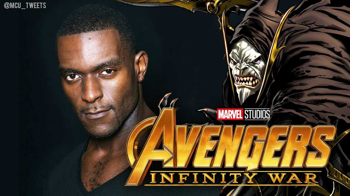Michael James Shaw as corvus glaive