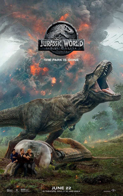 new jurassic world fallen kingdom trailer and poster  we