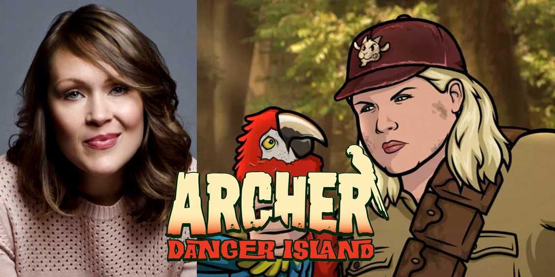 Interview: Amber Nash on Archer Danger Island