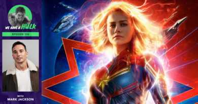 Episode #106 – Captain Marvel Review + Interview with The Orville's Mark Jackson
