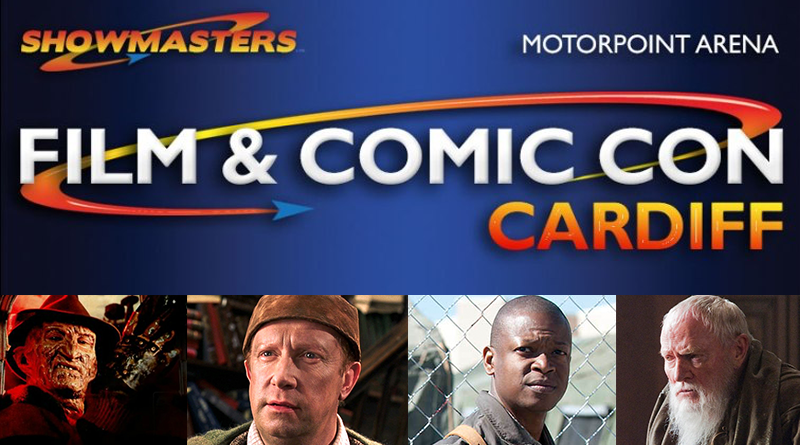Showmaster's Film & Comic Con Cardiff Review