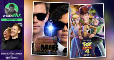 Episode #113 – Toy Story 4 + Umbrella Academy's Tom Hopper & Emmy Raver-Lampman
