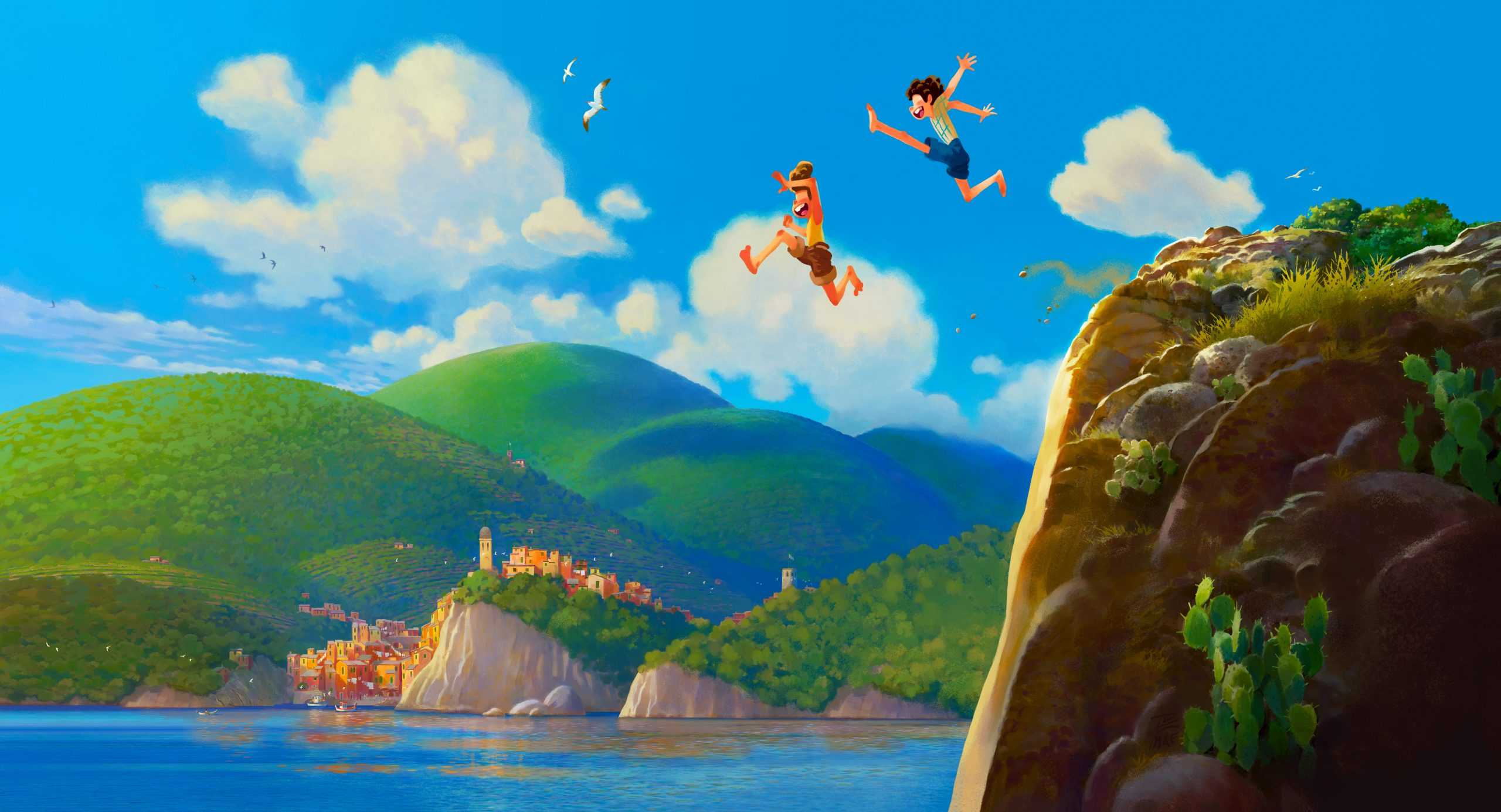 Disney Pixar unveil new 'Luca' poster with a new trailer dropping tomorrow