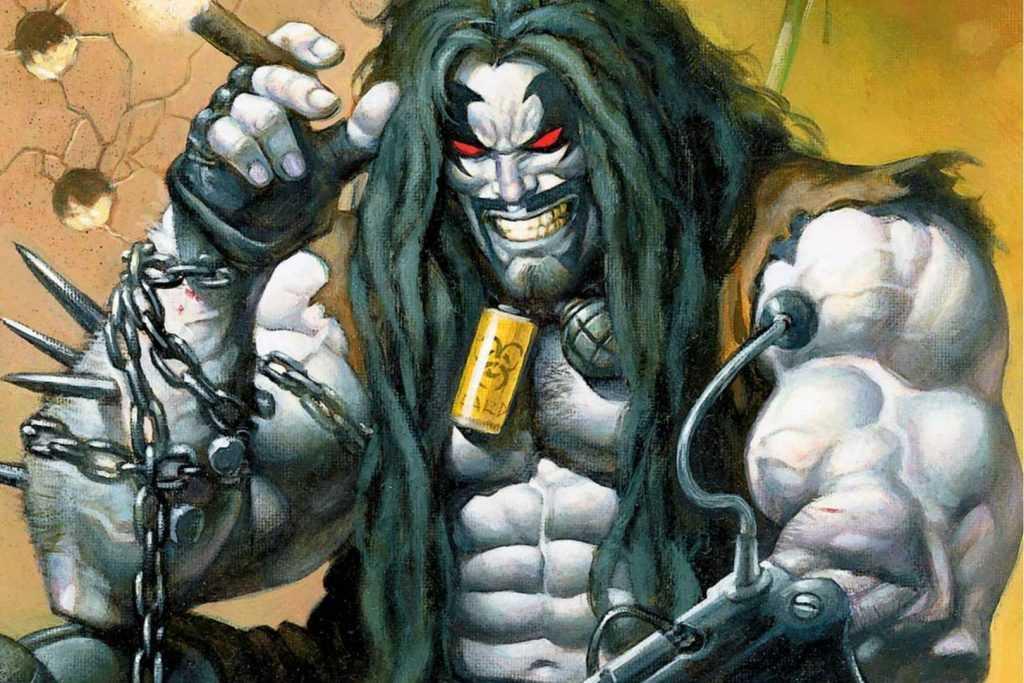 Lobo with cigar
