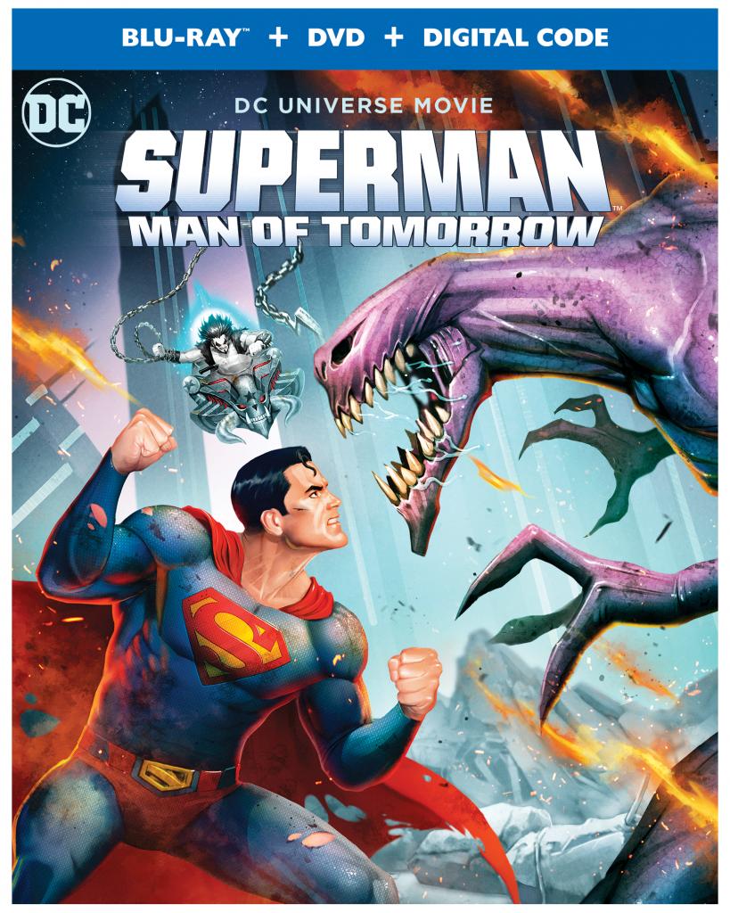 Superman: Man of Tomorrow Blu-Ray Cover