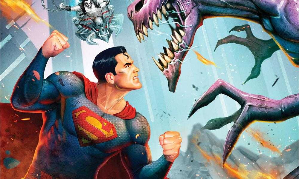 Superman vs. Parasite in Superman: Man of Tomorrow