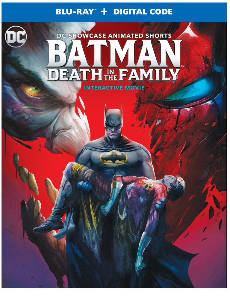 Batman: Death in the Family Blu-Ray cover