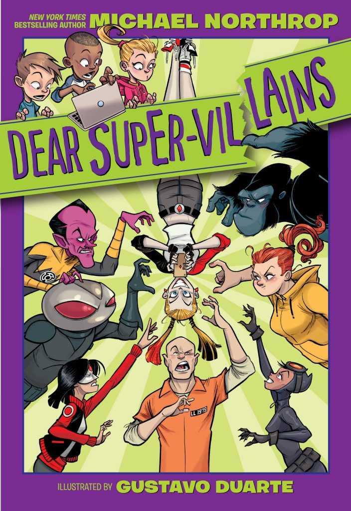 Dear Super-Villains front cover