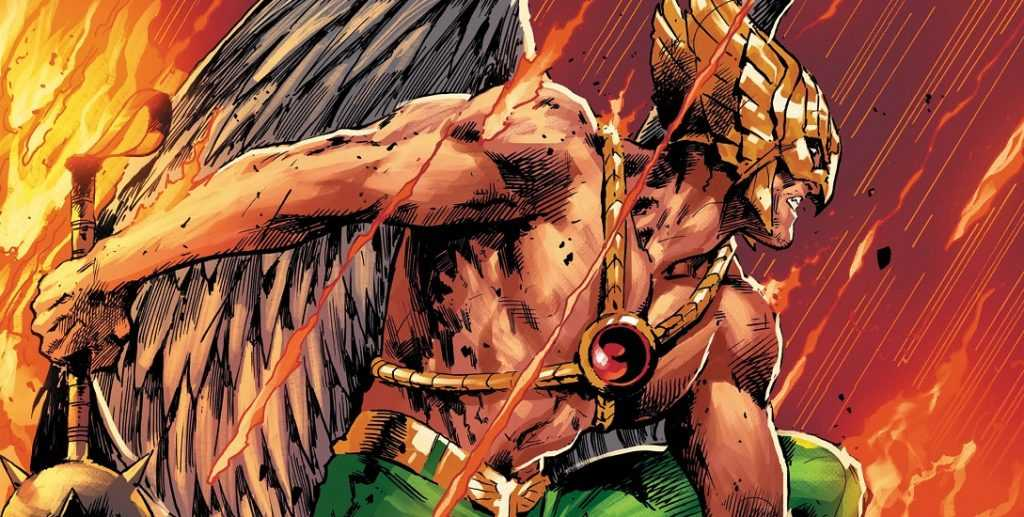 Comic depiction of DC's Hawkman