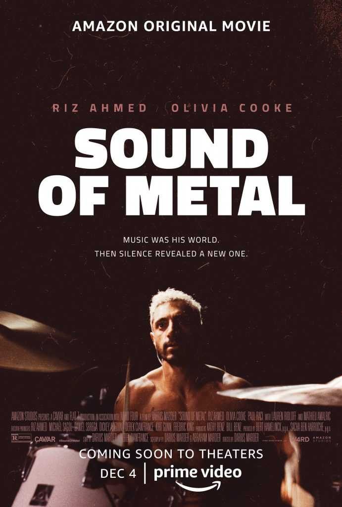 Sound of Music Poster with Riz Ahmed playing the drums