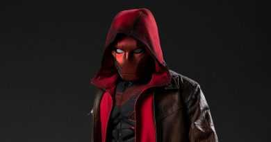 """First Look at """"Titans"""" Season 3 Red Hood costume"""