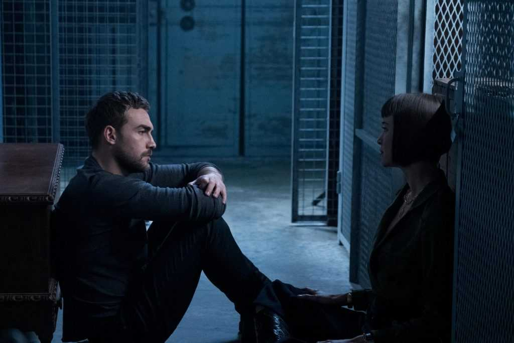 Daimon Helstrom (Tom Austen) and Ana Helstrom (Sydney Lemmon)
