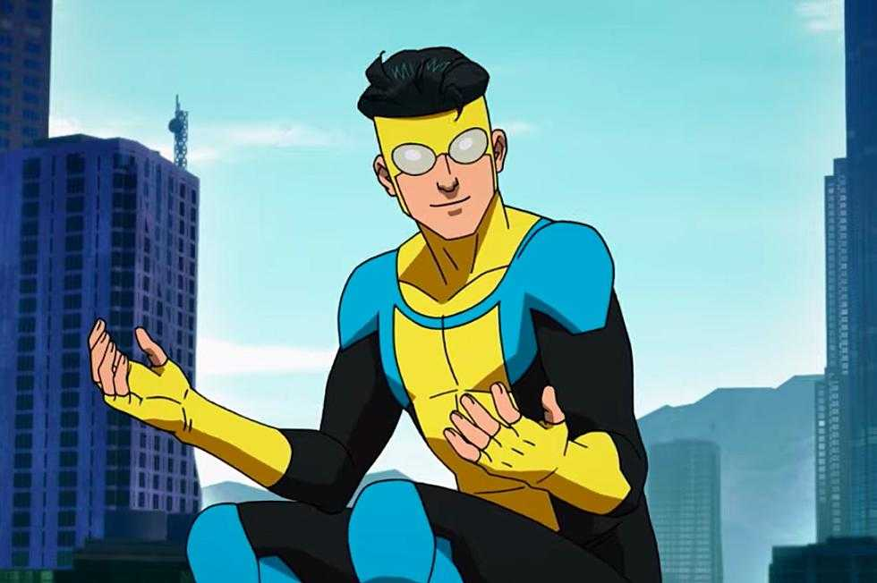 Robert Kirkman reveals new 'Invincible' clip and release date