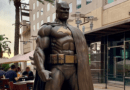 DC teams up with Burbank to unveil new Batman statue