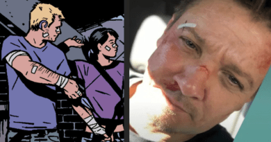 """Jeremy Renner reveals our first look at Clint from the """"Hawkeye"""" series"""
