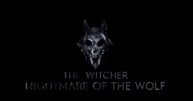 Netflix unveil official animated 'The Witcher: Nightmare of the Wolf' logo