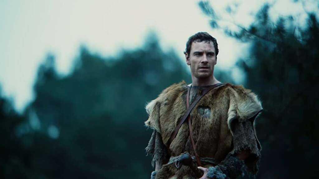 Michael Fassbender in Centurion